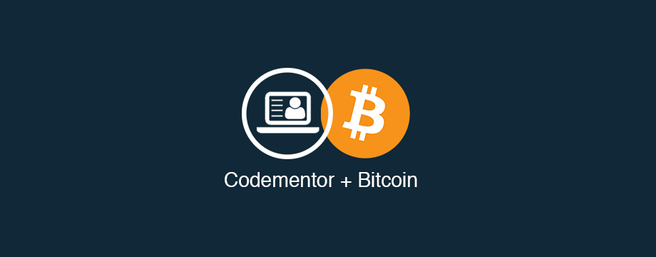 Codementor Bitcoin Support